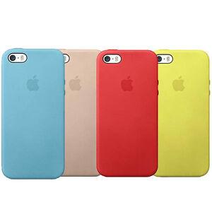 Original-Authentique-Officiel-Apple-iPhone-5-5s-SE-Cuir-Coque-Protectrice