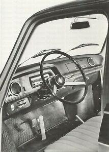 RENAULT-R-10-Automatik-Cockpit-Photo-Photograph-Auto-historisches-Foto-Automobil