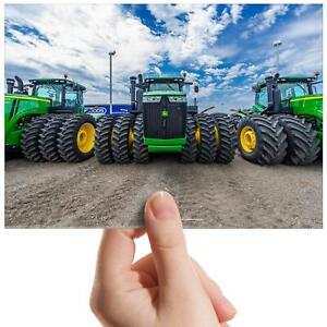 Tractors-Green-Agriculture-Small-Photograph-6-034-x-4-034-Art-Print-Photo-Gift-15545