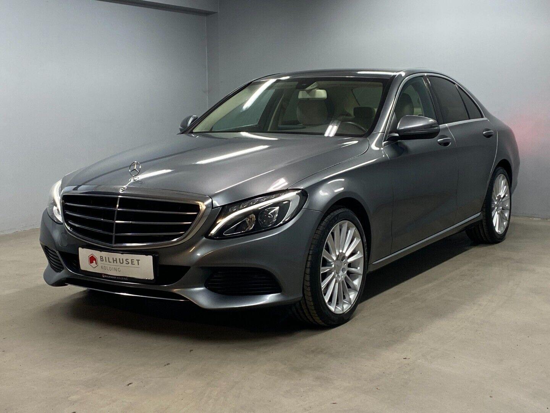 Mercedes C220 d 2,2 Luxury aut. 4d - 319.900 kr.