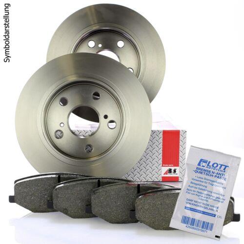 Bremsscheiben belüftet 347mm Bremsbeläge Set Klötze vorne für Audi A6 C6