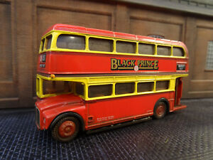 lineside Weathered Efe Black Prince Morley Routemaster Bus Boxed