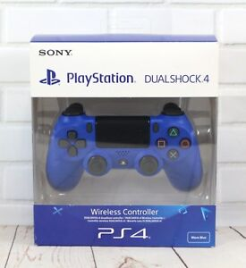Official Sony Playstation DualShock 4 V2 Wireless Controller GamePad - Wave Blue