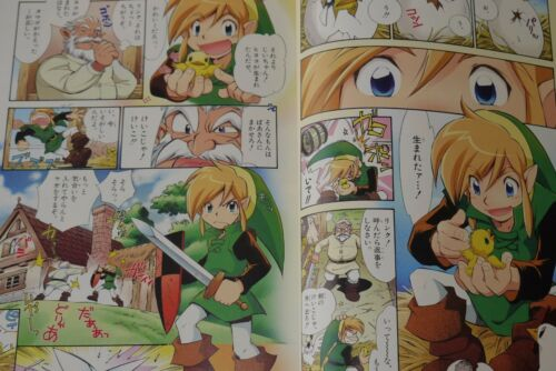 The Legend of Zelda Oracle of Seasons and Oracle of Ages Kanzenban JAPAN manga