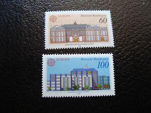 Germany-Rfa-Stamp-Yvert-Tellier-N-1293-1294-N-MNH-COL3