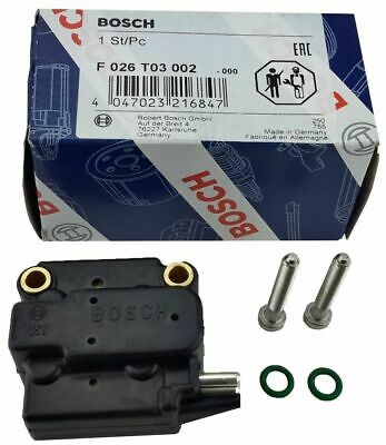 One New Bosch Fuel Injection Electro Hydraulic Actuator Valve F026T03002