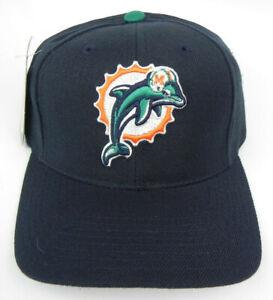MIAMI-DOLPHINS-NFL-PUMA-ATA-NAVY-VINTAGE-STRAPBACK-OLD-LOGO-RETRO-CAP-HAT-NWT
