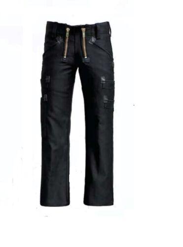 Eiko 41381 zunfthose negro Highlander alemán cuero habitación hombre pantalones