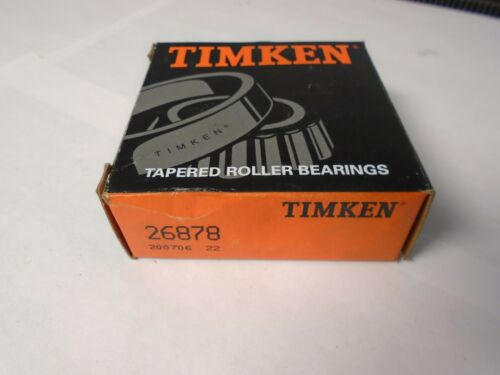 Tapered Roller Bearing Timken 26878 CONE Only