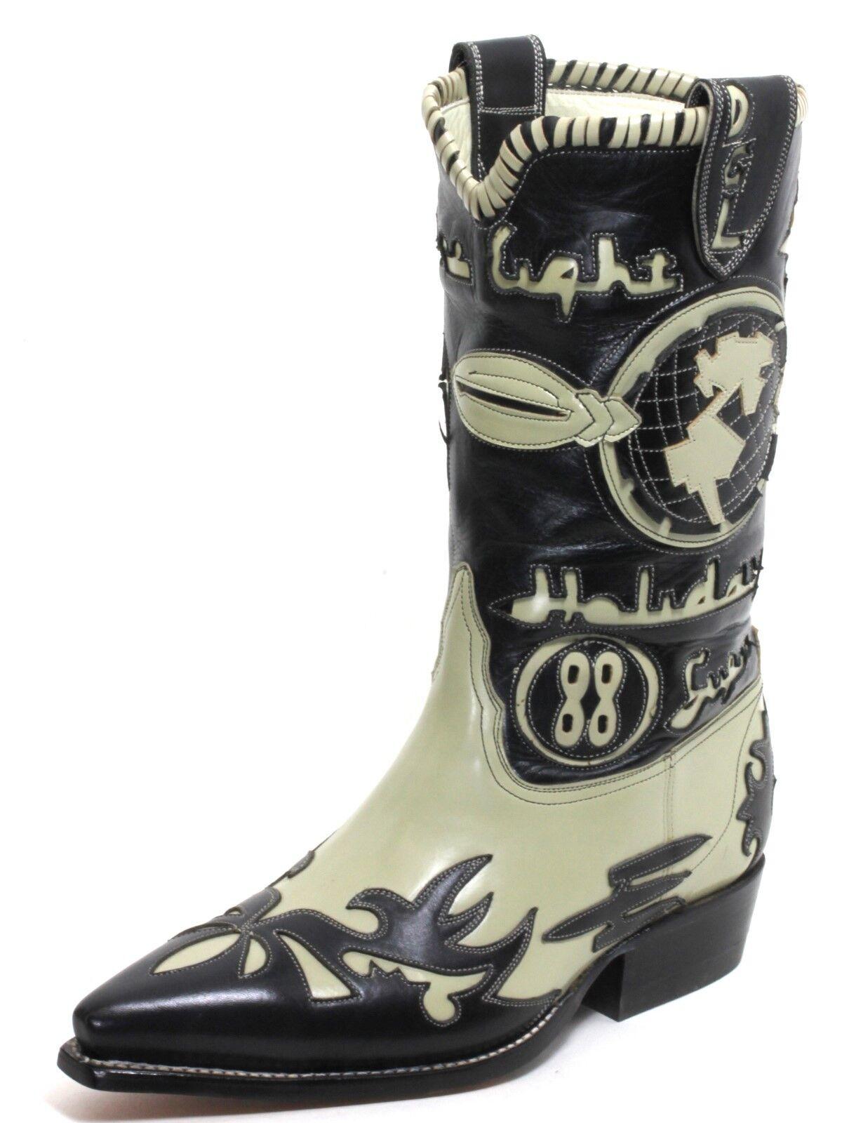 79 Cowboystiefel Westernstiefel Texas Stiefel Leder Catalan Style El Canelo 43