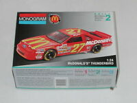 Monogram Mcdonald's Thunderbird Open Box Sealed Parts