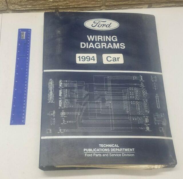 Factory 1994 Ford Car Vacuum  U0026 Wiring Diagram Mustang