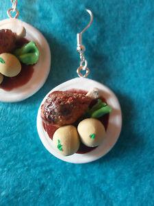 Ohrringe-Oktoberfest-Schweinebraten-Schweinehaxe-Fimo-Trachten-Wiesn-37003