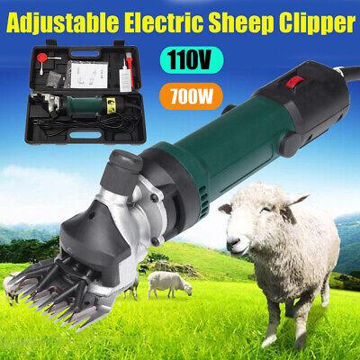 1080W Adjustable Electric Shearing Clipper Sheep Goat Grooming Shears Farm Tool