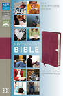 NIV, Thinline Bible, Imitation Leather, Pink, Red Letter Edition by Various Authors (Leather / fine binding, 2011)