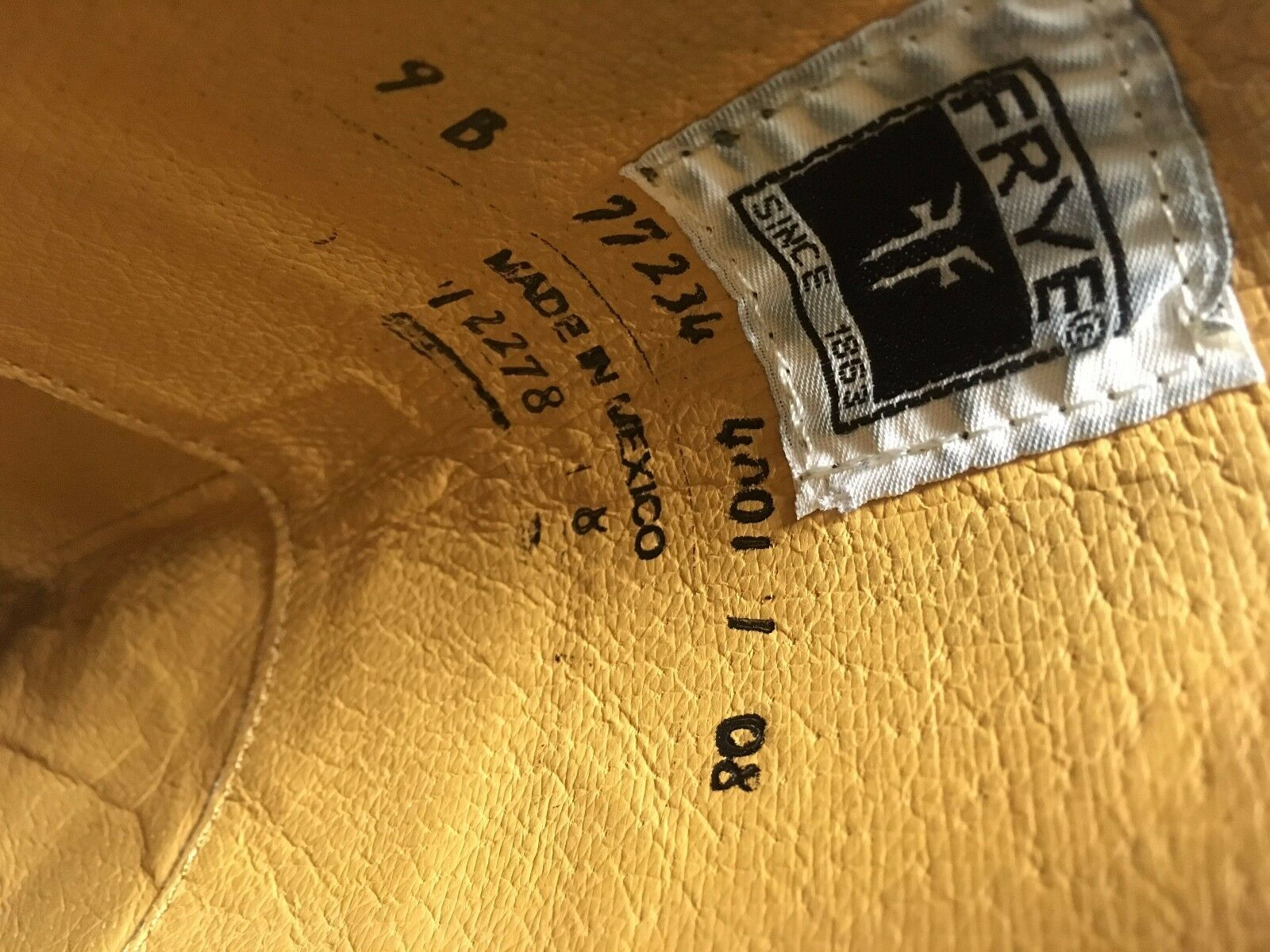 FRYE Größe 4001 Dark braun braun braun JANE 77234 Tall Stiefel 9 B c191ef
