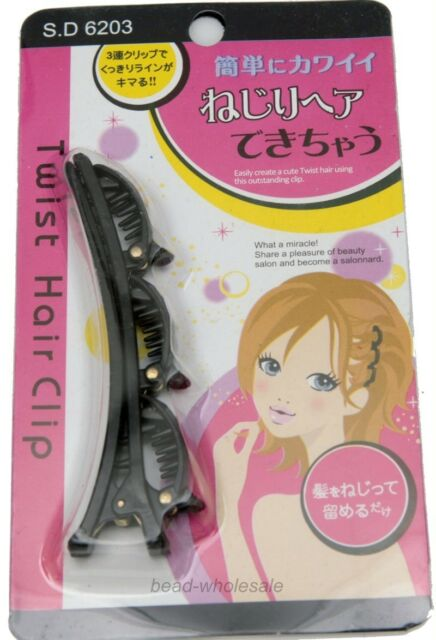 New Fashion Hair Styling Twist Clip Barrette Braid Tool Magic Hair Accessories
