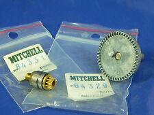 1 NEW Mitchell 308 308A 310 pignione e corona pinion & main gear 84331 84329