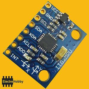 MPU-6050-Accelerometre-Du-gyroscope-3-axes-chaque-un-GY-521-Arduino