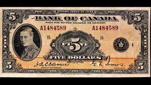 1935-Bank-Of-Canada-5-English-VF-EF-A1484589