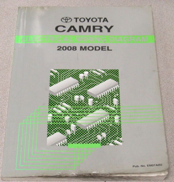 2008 Toyota Camry Electrical Wiring Diagram Service Manual