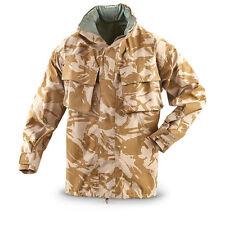 Genuine British Army Desert Camo Gortex Jacket, Size 160/88, New Small Short