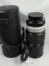 KONICA HEXANON AR 200mm f3.5 EE LENS W/CAPS/FILTER/HARD CASE L@@K