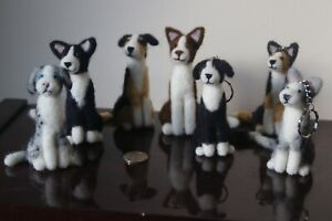 Needle-Felted-Border-Collies-Laying-Sitting-and-Keyrings-All-colours-Free-P-P