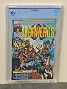 WARHEADS-1-9-8-HIGHEST-Graded-1ST-Appearance-Marvel-UK-Comics-1992-CGC-lt-CBCS