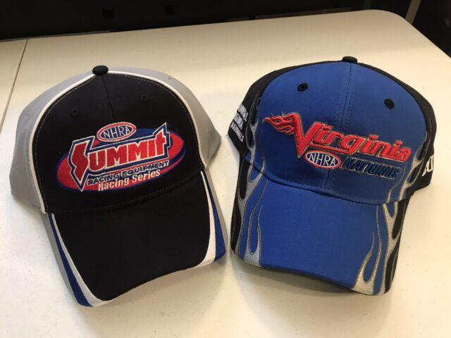 NHRA DRAG RACING 2019 VIRGINIA NATIONALS EVENT HAT plus FREE SUMMIT HAT