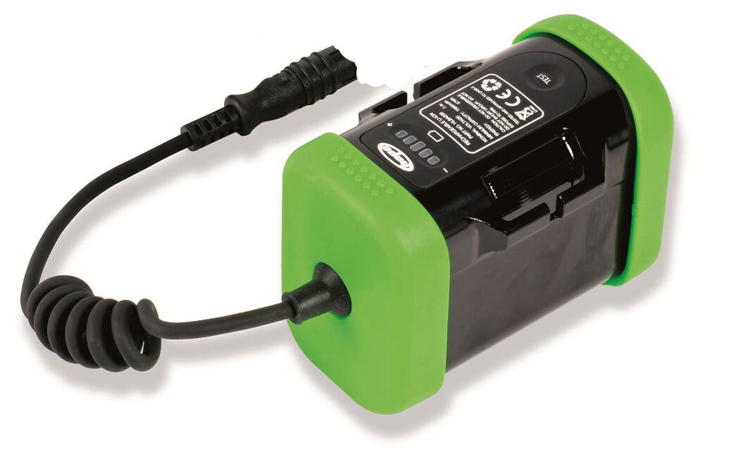 Hope 6 CELL LIIon Battery PackINDICATORE autoBURANTE 7.4v9600mah