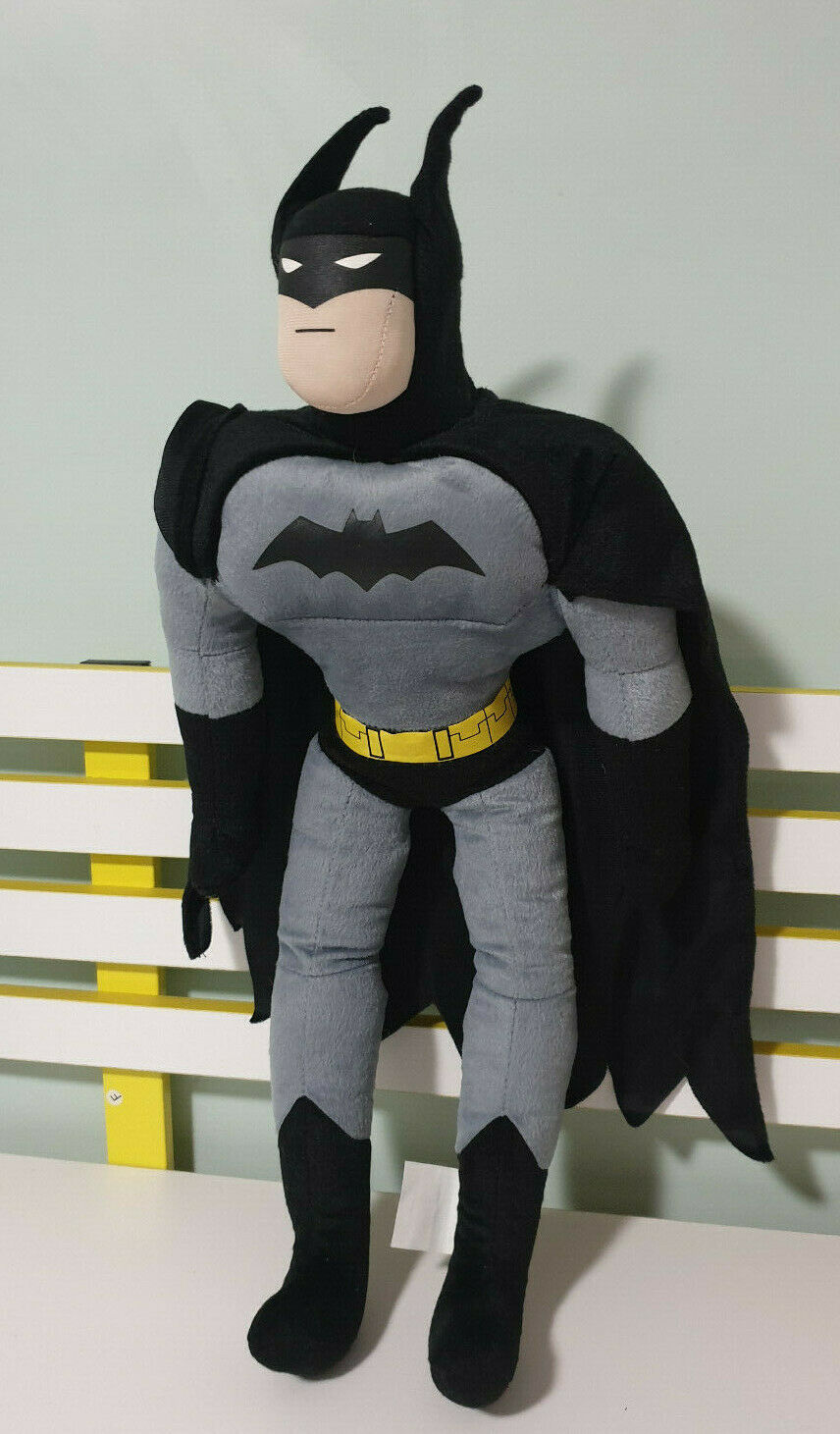 BATMAN PLUSH TOY 65CM CHARACTER TOY DC COMICS WOOLWORTHS RELEASE