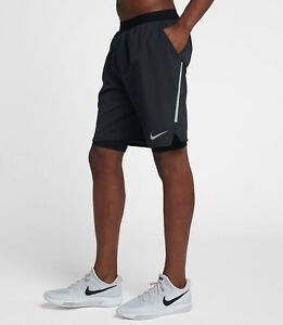 a0c17d3af5 Details about Nike Flex Stride 9' Men's 2 in 1 Dri Fit Running Shorts  AQ0053-010 S M L