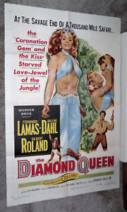 The Diamond Queen Arlene Dahl vintage movie poster