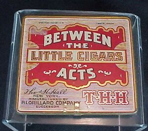 Image Is Loading Vintage Between The Acts Little Cigars Tin Lorillard