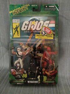 Snake Eyes vs Storm Shadow GI JOE A real american hero livraison gratuite!