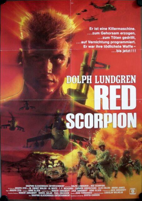 RED SCORPION Dolph Lundgren VHS M. Emmet Walsh RARE | eBay