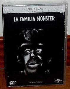 LA FAMILIA MONSTER SERIE COMPLETA 12 DISCOS DVD NUEVO PRECINTADO (SIN ABRIR) R2