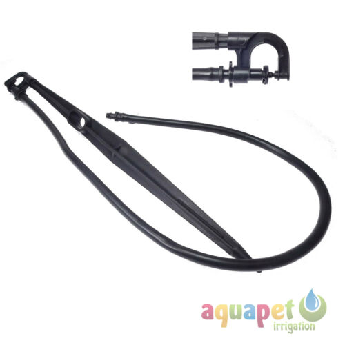 30cm Micro Sprinkler Support Stake Set with 8mm Tube Free 360° Sprayer Jet