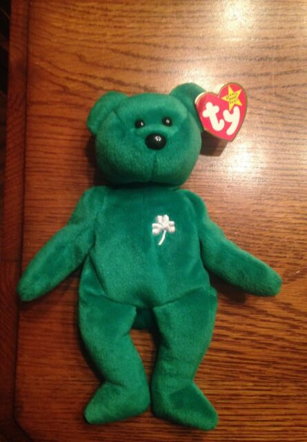 0ad1e920cd5 Extremely RARE Ty Beanie Baby Erin With Errors 1997 for sale online ...