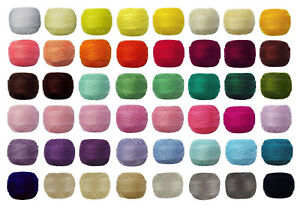 5-x-82m-VENUS-Crochet-Cotton-Tatting-Thread-Lace-70-message-me-Codes