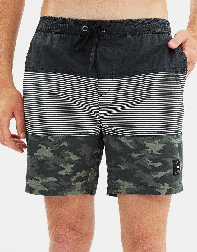 BNWT St Goliath Mens pink Pull On Shorts