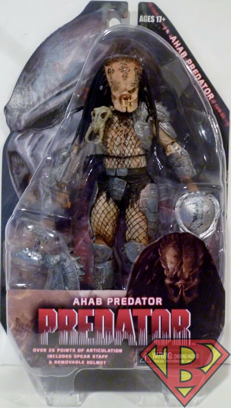 AHAB PREDATOR Predator 7  inch Action Figure SDCC Comic Con Exclusive Neca 2014