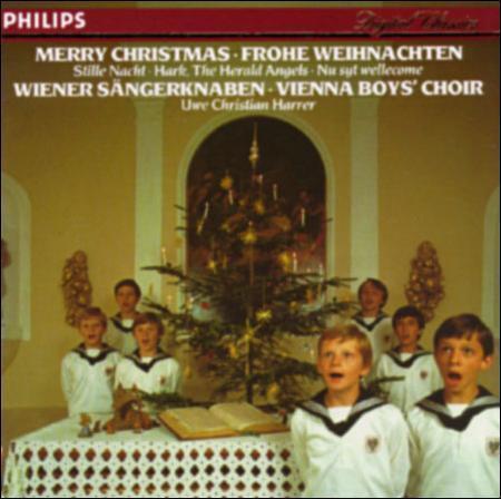 CD - Vienna Boys Choir - Merry Christmas - Frohe Weihnachten - $5.95