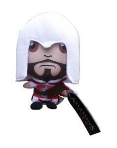 Assassins Creed Ezio Brotherhood Medium Plush Soft Toy 18cms Tall Official New