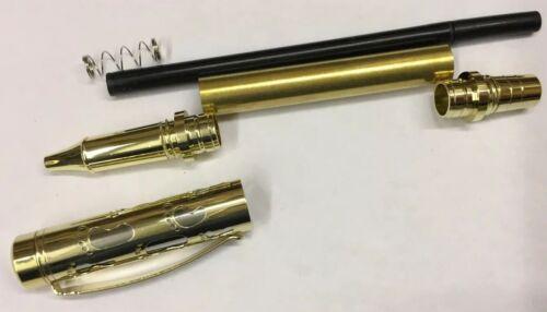 pen Blank Rollerball encres Roller bausatzin or et Chrome Stylo Kits Filigrane