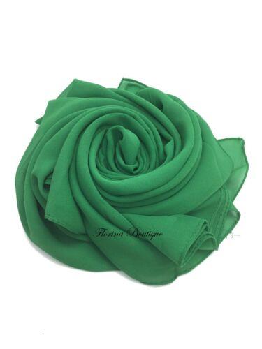 nice material CLEARANCE Plain Chiffon Hijab Scarf Shawl bridesmaid ladies Wrap