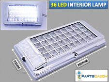 36 LED Light Bulb Interior 12V White Car Van Sprinter VW Transit Roof Dome 2012