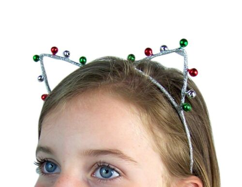 Jingle Bells Christmas Cats Ears Headband Accessory