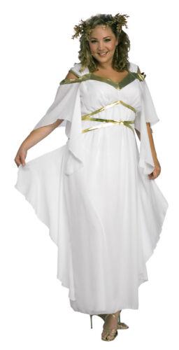 Roman Goddess Adult Plus Costume Rubies Toga Robe Dress Theme Party Halloween